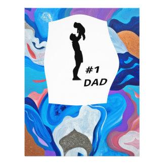 Pai da seta #1 papel timbrado