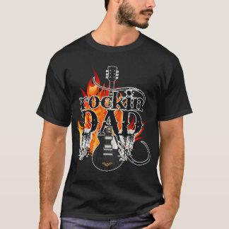 Pai de Rockin Camiseta