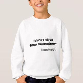 Pai de uma criança com desordem de processamento camiseta