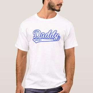 Pai desde 2014 camiseta
