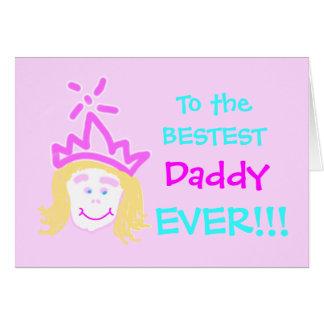 Pai do cartão & do verso do dia dos pais da