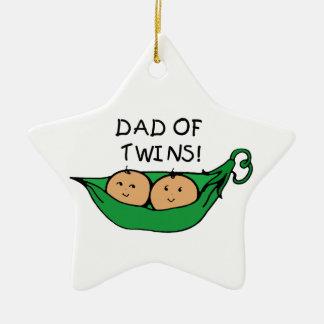 Pai do ornamento dos gêmeos