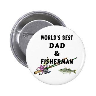 Pai e pescador botons