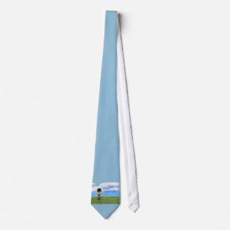 Pai feliz do dia dos pais com menino do gravata