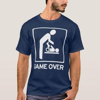 Pai novo a ser = jogo sobre a camisa do dever T da
