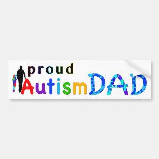 Pai orgulhoso do autismo adesivo para carro