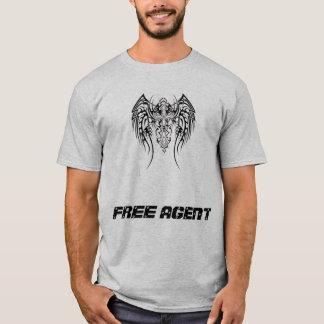 Paintball do agente livre camiseta