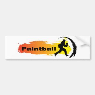 Paintball original adesivo para carro