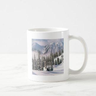 País das maravilhas Canadá do inverno Canecas