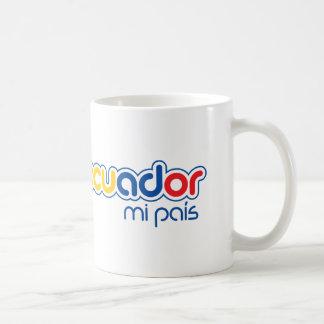 Pais de Equador MI Caneca De Café