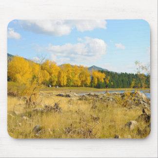 Paisagem bonito do outono mouse pad