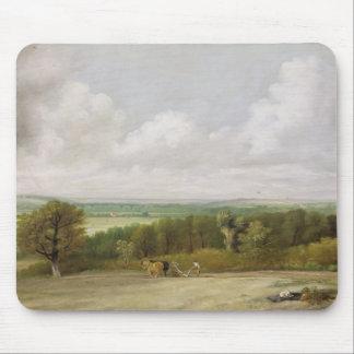 Paisagem: Cena Ploughing no Suffolk (um Summerlan Mouse Pad