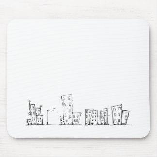 Paisagem da cidade mouse pad
