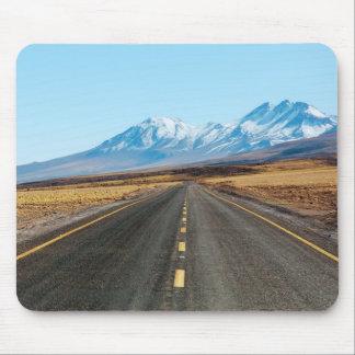 Paisagem da estrada mouse pad