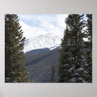 Paisagem da montanha poster