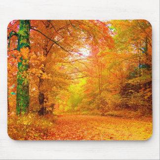 Paisagem da natureza do outono de Vermont Mouse Pad