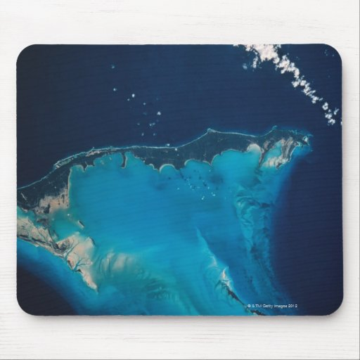 Paisagem da terra do espaço 2 mousepad