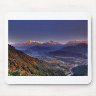 Paisagem da vista HIMALAYA POKHARA NEPAL