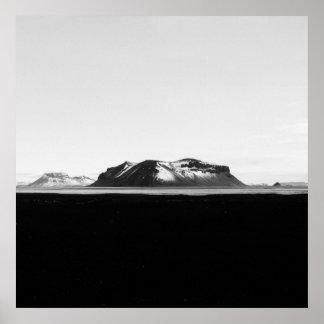 Paisagem de Islândia Poster