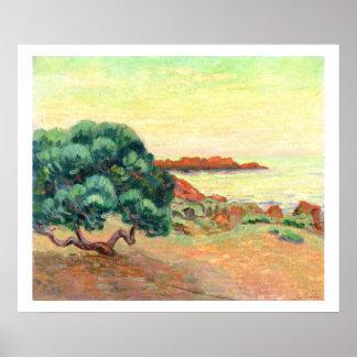 Paisagem de Midi, 1898 (óleo em canvas) Impressão