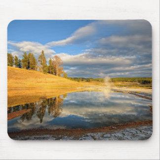 Paisagem de Yellowstone Mousepads