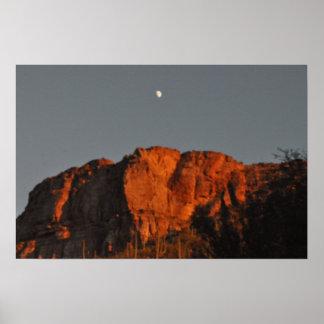 Paisagem do deserto de Sonoran Impressão