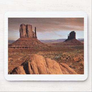 Paisagem do deserto mouse pad