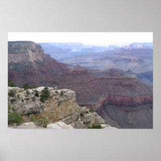 Paisagem do Grand Canyon Poster