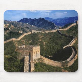 Paisagem do Grande Muralha, Jinshanling, China Mouse Pad