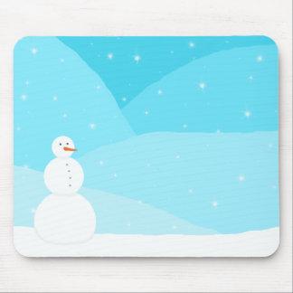 Paisagem do inverno mousepad