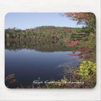 Paisagem do lago Mousepad em Tennessee