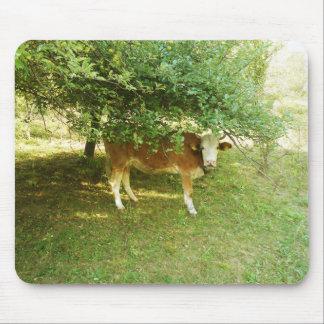 Paisagem feliz das montanhas da vaca de Mousepad