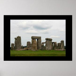 Paisagem II de Stonehenge Pôsteres