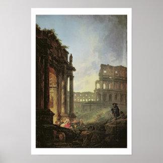 Paisagem italiana poster