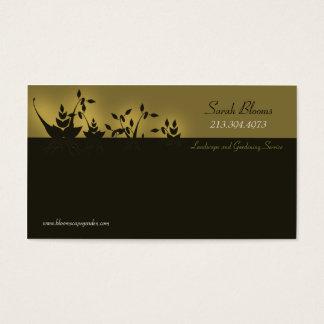 Paisagem & jardinagem \ cartão de visita do