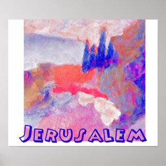paisagem Jerusalem Poster