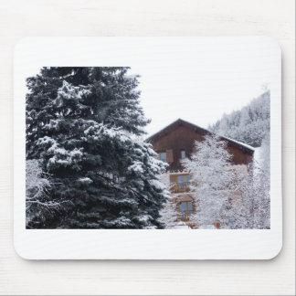 paisagem nevado mousepad