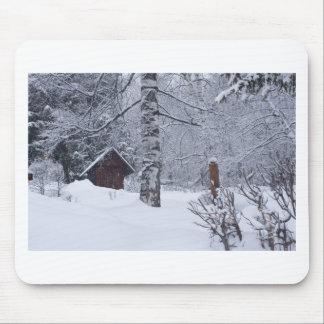 paisagem nevado mousepads
