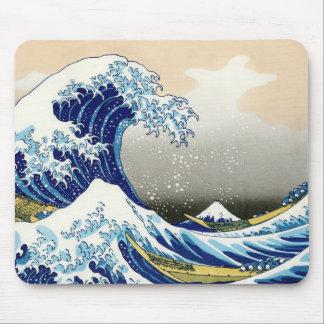 Paisagem oriental legal da opinião de Hokusai Fuji Mousepad