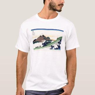 Paisagem oriental legal da opinião de Hokusai Fuji Tshirts