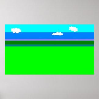 paisagem poster