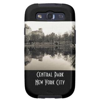 Paisagem preta & branca no Central Park