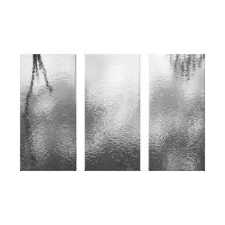 Paisagem preto e branco canvas esticadas impressão em tela