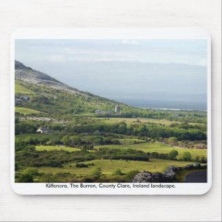 Paisagem rural de Ireland o Burren Co Clare