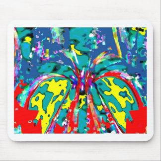 Paisagem TROPICAL da beleza - DIVERTIMENTO de flor Mouse Pad
