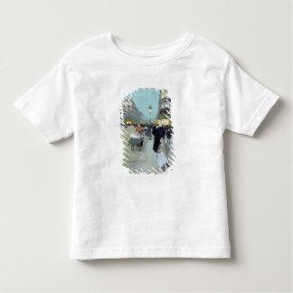 Paisagem urbana t-shirts