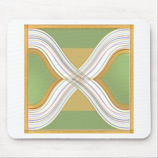Paisagem verde moderna - 3d Cloudcomputing Mousepads