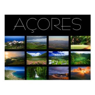 Paisagens de Açores Cartão Postal