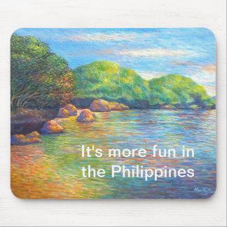 Paisagens nas Filipinas Mouse Pad