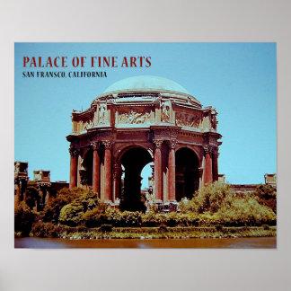 Palácio das belas artes poster